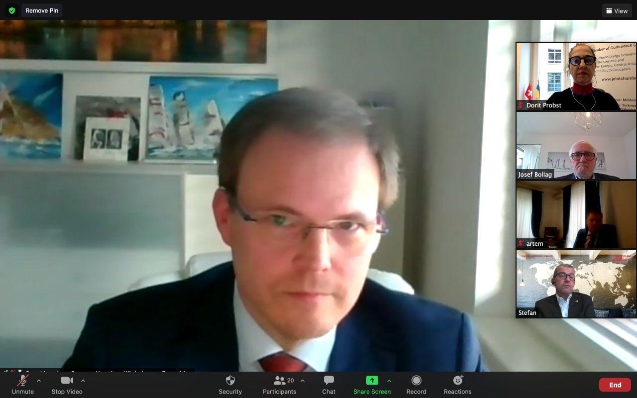 HWC Partner, Sven Henniger announced JCC Ukraine Chapter Head