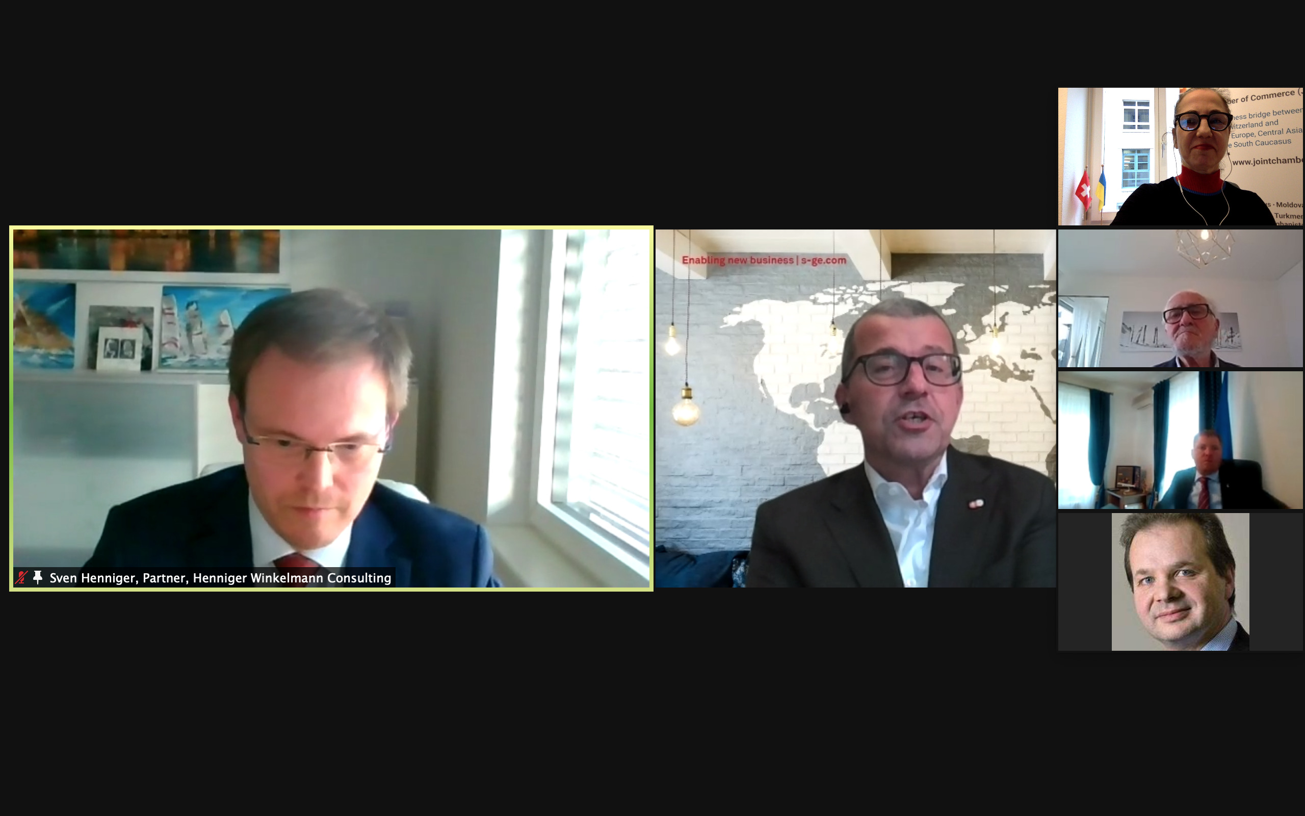 HWC Partner, Sven Henniger wird JCC Ukraine Chapters Head