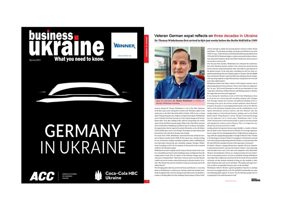 Interview mit Dr. Thomas Winkelmann, Partner von HWC