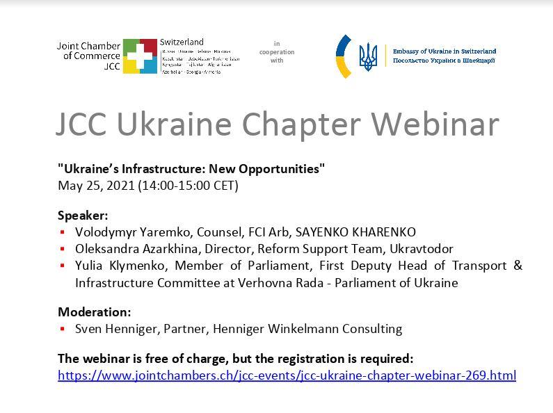 #Webinar Ukraine's Infrastructure: New Opportunities
